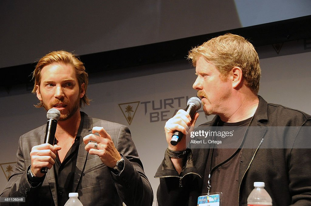 Voice Over Actors Troy Baker and John DiMaggio participate in a Q&A