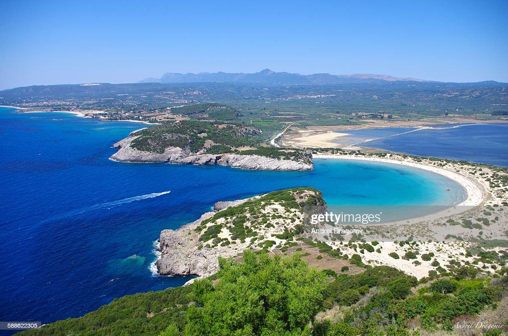 Voidokilia, Greece : Foto de stock
