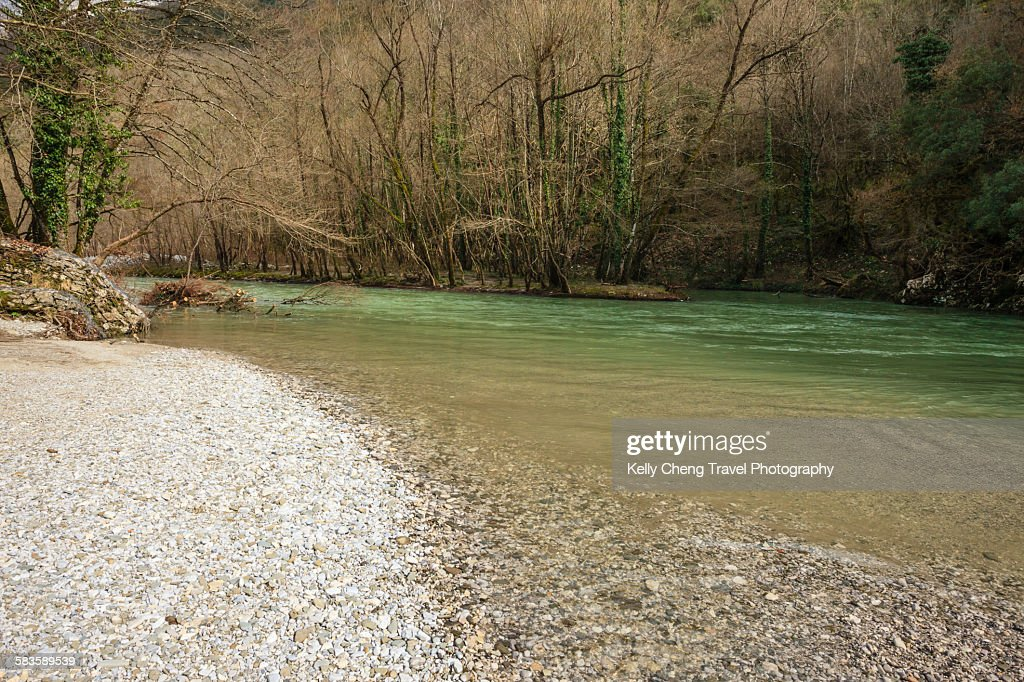 Voidomatis river : Stock Photo