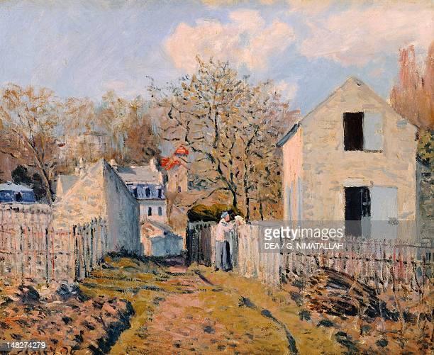 Voisins village by Alfred Sisley Paris Musée D'Orsay