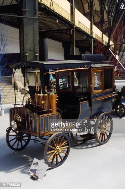 Voiture à vapeur Scotte de 1892.