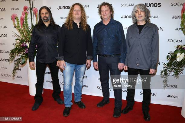 Voivod arrive on the red carpet for the 2019 Juno Gala Dinner and Awards at the London Convention Centre on March 16, 2019 in London, Canada.