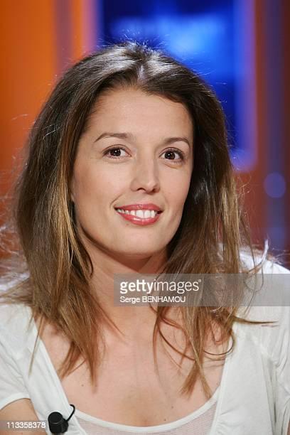 'Vol De Nuit' Tv Show In Paris France On April 26 2007 Amandine Cornette de Saint Cyr