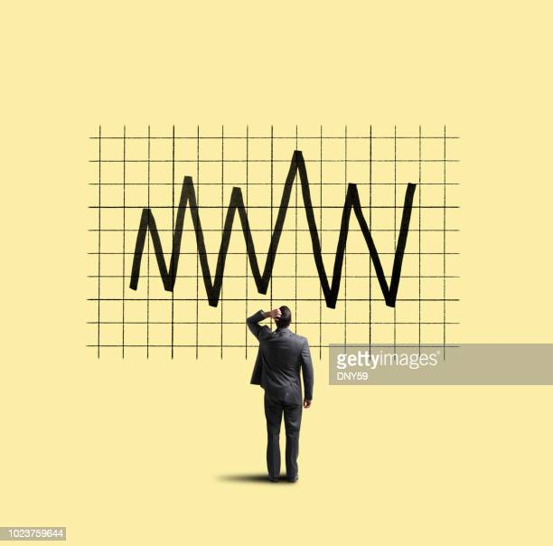 volatility in financial markets - stock market and exchange stock pictures, royalty-free photos & images