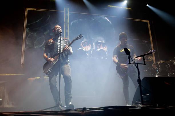 Dänische Metal-Band Volbeat gastiert auf ihrer 'Seal the