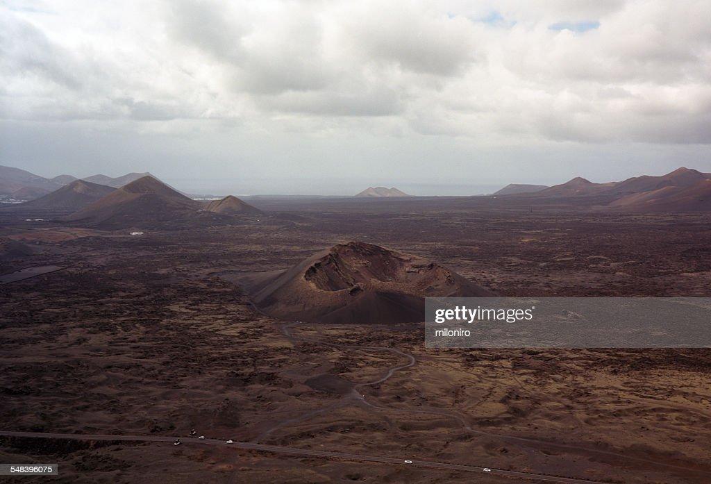 Volcan del Cuervo, Lanzarote : Stock-Foto