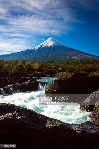 volcan osorno - puerto montt - fotografias e filmes do acervo
