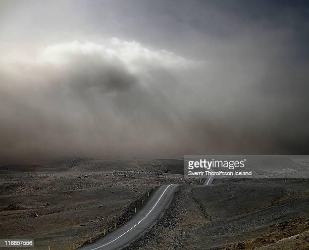 Volcanic ash cloud Grímsvötn.