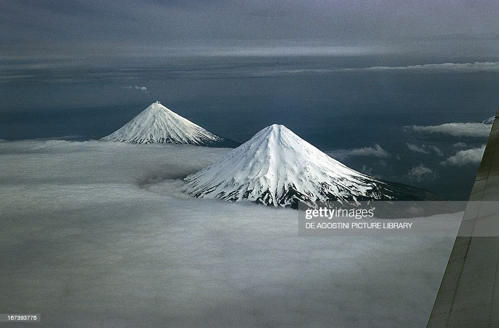 Volcanic cones : News Photo