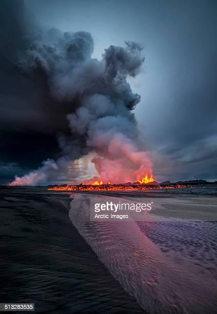 Volcanic Eruption, Holuhraun Fissure, Iceland