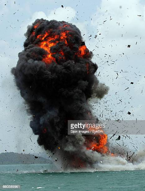 volcanic eruption in sea - erupting stock pictures, royalty-free photos & images