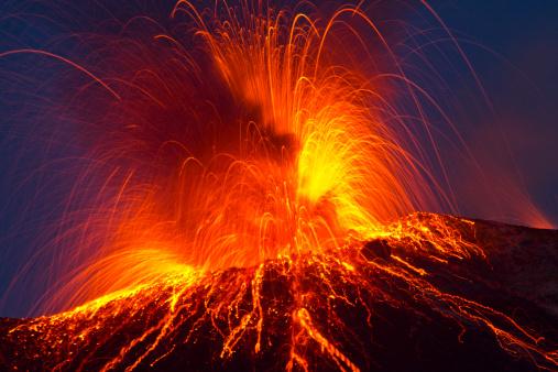 Volcanic Eruption 153873924