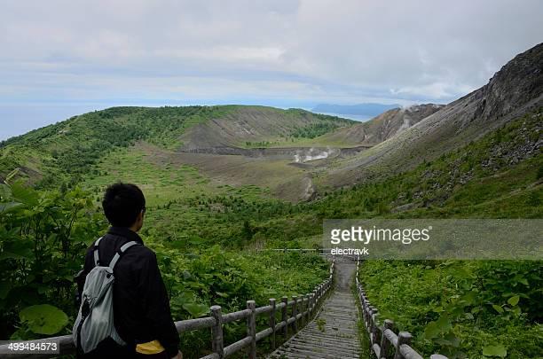 Volcanic hike