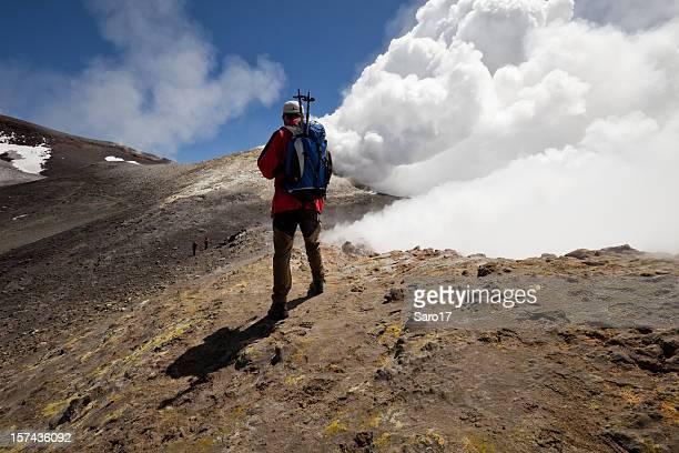 Volcanic hiking, Mt. Etna, Sicily, Italy