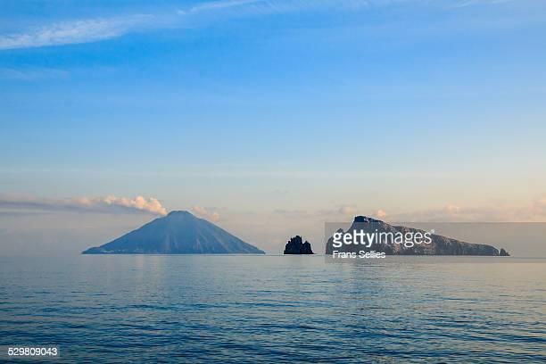 Volcanic island of Stromboli, Aeolian islands