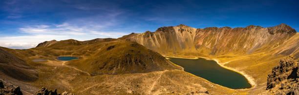 Volcanic lake, Nevado de Toluca, Mexico
