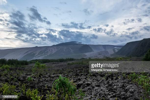 Volcanic landscape at Reunion Island