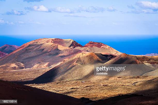 Volcanic Landscape in Timanfaya National Park, Canary Islands
