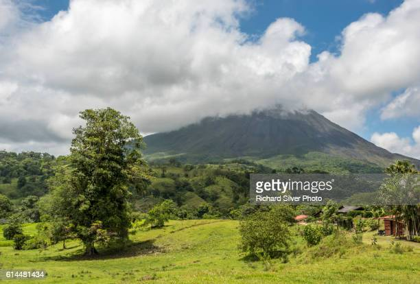 Volcanic Mountain in La Fortuna, San Jose Costa Rica