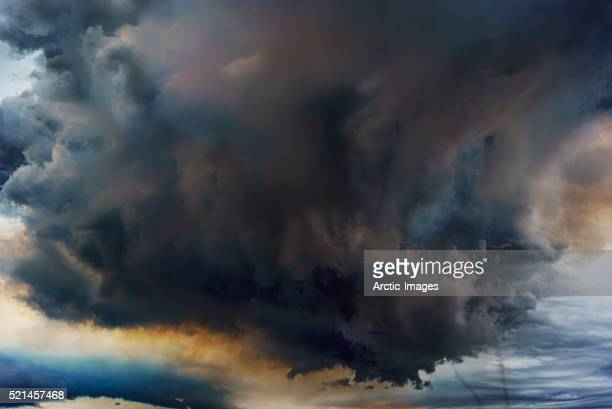 Volcanic Plumes with toxic gases, Holuhraun Fissure Eruption, Iceland Volcanic Plumes with poisonou