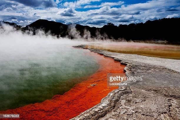 Volcanic pool