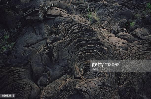 Volcanic rock Detail of volcanic formations in the Lagiar de la Restinga El Hierro island