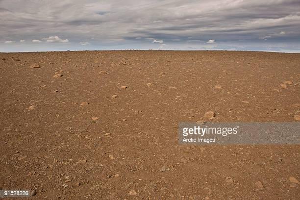 Volcanic rock, Mars like landscape