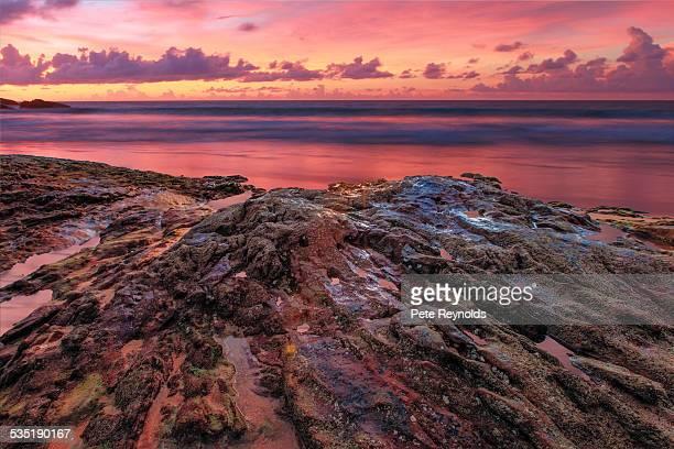 Volcanic Rock Sunset