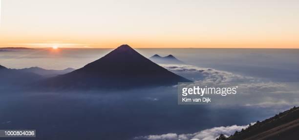 Volcano Agua Guatemala Sunrise