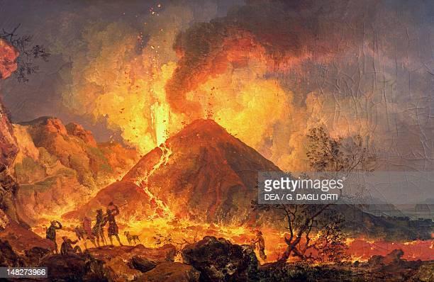 Volcano, by Joaquim Manuel da Rocha . ; Lisbon, Museu Nacional De Arte Antiga .