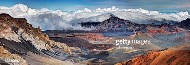 Haleakala nationalpark stock fotos und bilder getty images - Calderas de peles ...