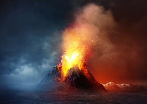 Volcano Eruption 512816156