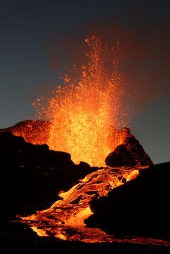 Volcano eruption 94975012
