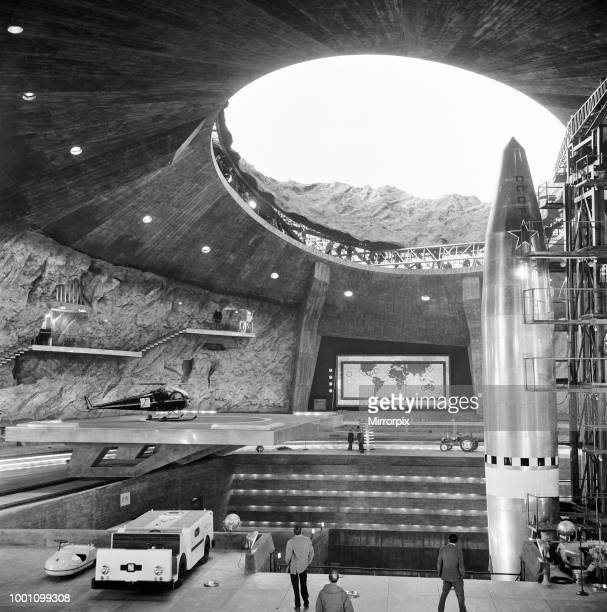 Volcano is the biggest and most complex film set interior ever built in Europe and has been erected for the latest James Bond adventure You Only Live...