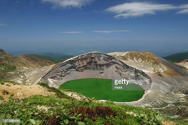 火山湖 - 東北地方 ストックフォトと画像