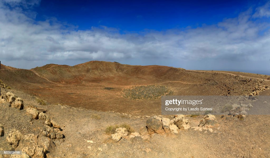 Volcano Montana Roja : Stock Photo