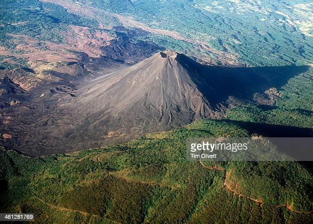 Volcano near San Salvador... Izalco --