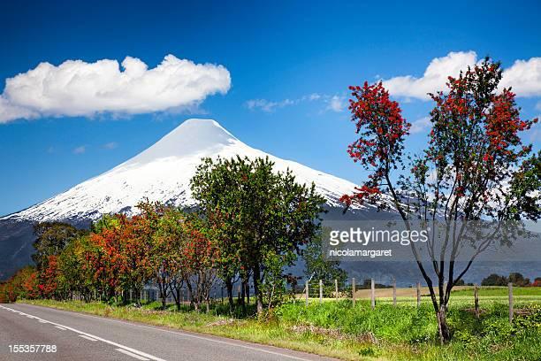 Volcano Osorno in the Chilean Lake District.