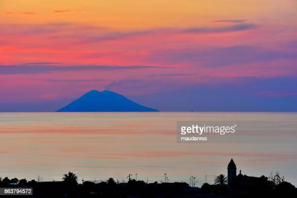 volcano Stromboli