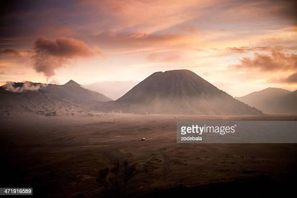 Volcan Sunrise, en Indonésie