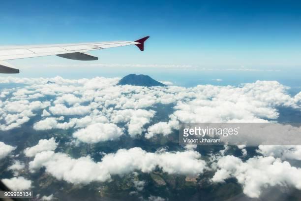 Volcano view bali island