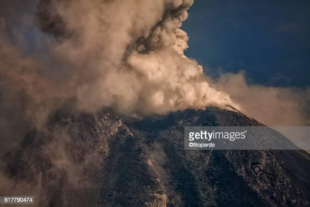 Volcán de Colima Eruptions
