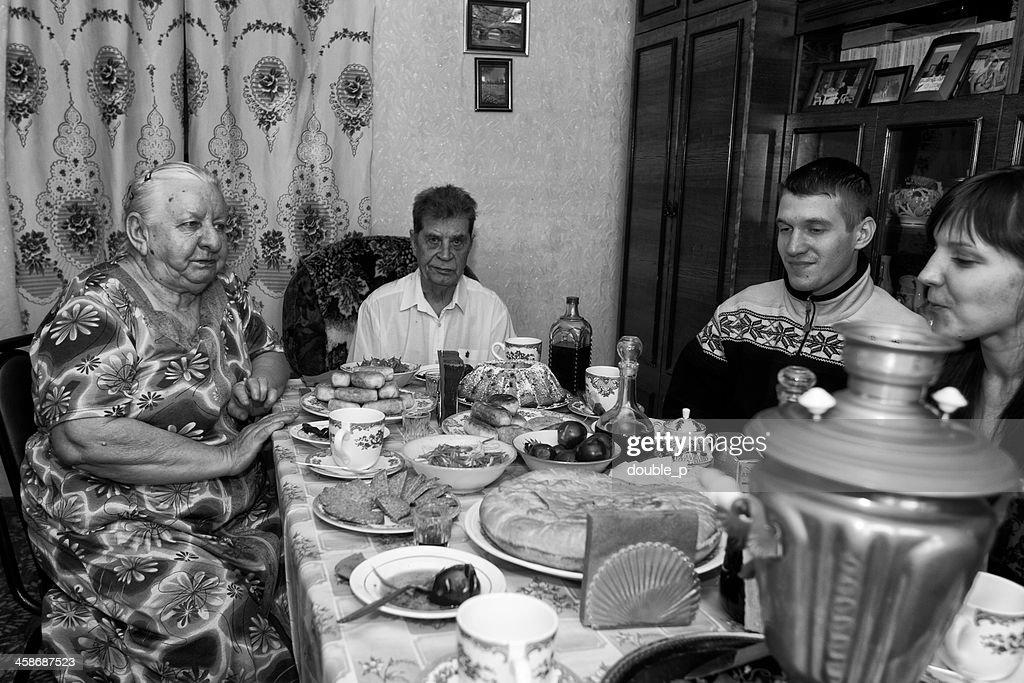 Wolgograd Familie : Stock-Foto