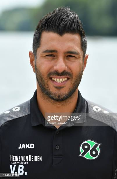 Volkan Bulut assistant coach of Hannover 96 poses during the team presentation at on July 14 2017 in Hanover Germany