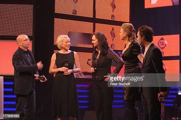 Volker A Zahn Eva Zahn Nicole Weegmann Barbara Schöneberger Ludwig Trepte 45 Gala 'AdolfGrimmePreis'Verleihung Theater Marl NordrheinWestfalen...
