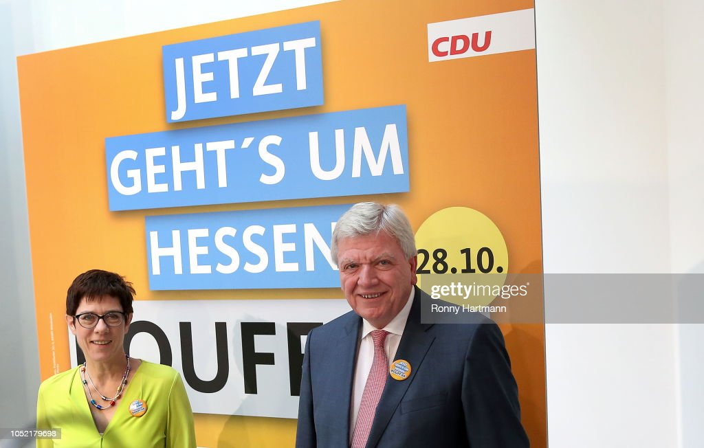 Political Parties React To Bavarian State Elections Results : News Photo