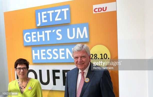 Volker Bouffier State Premier of Hesse and Deputy Chairman of the Christian Democratic Union and Secretary General of the Christian Democratic Union...