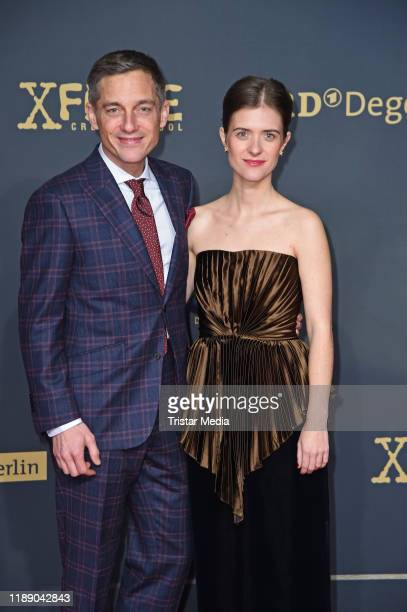 Volker Bruch and Liv Lisa Fries attend the 3rd season Babylon Berlin TV series world premiere at Zoo Palast on December 16 2019 in Berlin Germany