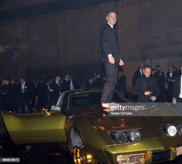 Volker Bruch during the 'When the Ordinary becomes Precious #CartierParty Berlin' at Old Power Station on November 2 2017 in Berlin Germany