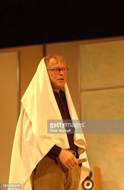 """Volker Lechtenbrink, Theater-Komödie: """"Einmal Sonne für Zwei"""", Hamburg, , """"Komödie Winterhuder Fährhaus"""", Schauspieler, Bühne, Auftritt, Kulisse,..."""